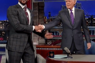 "Watch Will Smith ""Gettin' Jiggy With It"" with David Letterman"