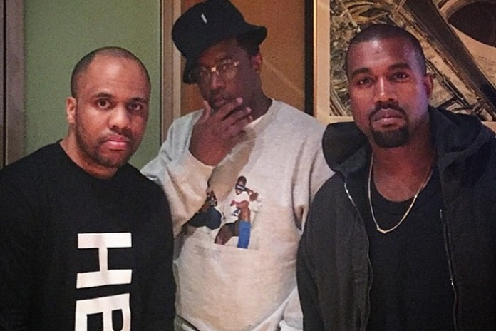 Kanye West, Diddy & Consequence in the Studio Together