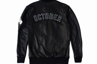 "Drake Reveals OVO x Roots Canada 2015 ""October"" Varsity Jacket"