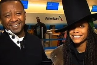 Erykah Badu Crashes Another Newscast