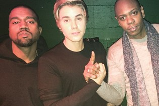 Kanye West, Kim Kardashian, and Justin Bieber Attend Dave Chappelle's NYC Show