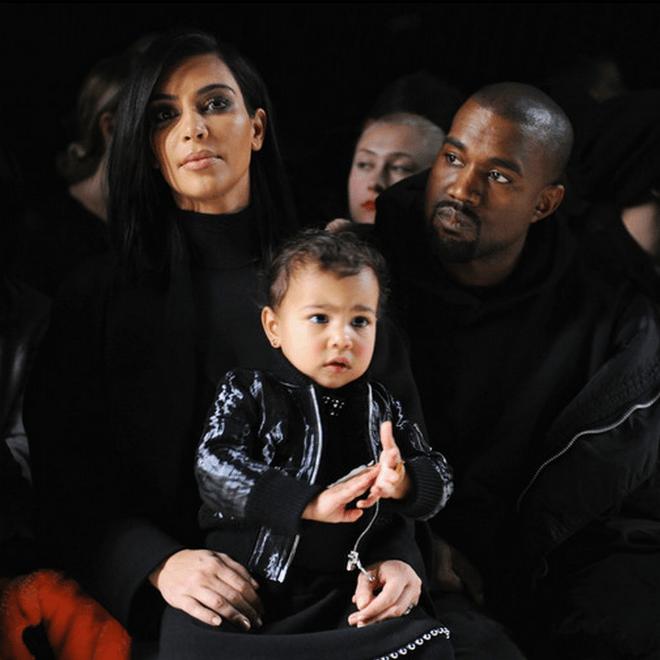 Kanye West, Kim Kardashian, & Nicki Minaj Attend Alexander Wang's NYFW Show