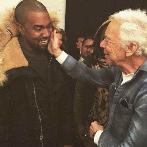 Kanye West Meets Ralph Lauren