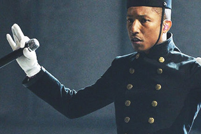 """Pharrell Performs """"Happy"""" with Hans Zimmer and Lang Lang at The GRAMMYs"""