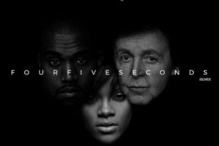 Rihanna featuring Kanye West & Paul McCartney - FourFiveSeconds (DJ Mustard Remix)