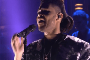 "Watch The Weeknd Perform ""Earned It"" On 'The Tonight Show'"