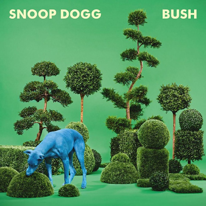 Snoop Dogg's New Album Cover is a Dog Eating a Bush