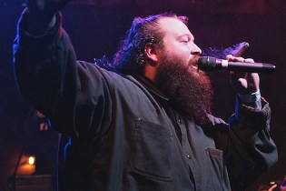 Action Bronson Throws Flat Screen TV Into the Audience