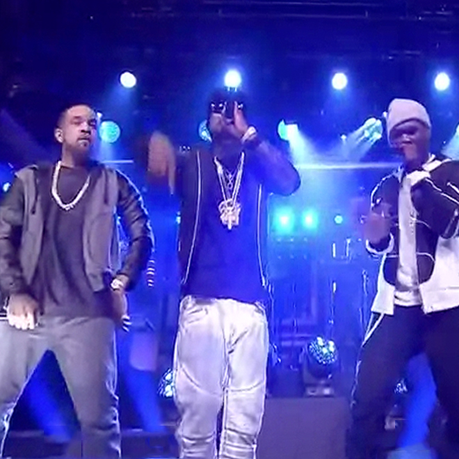 "G-Unit Performs ""I'm Grown"" on 'Jimmy Fallon'"