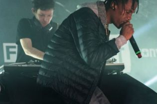 Hudson Mohawke and Travi$ Scott Close the Fader Fort at SXSW