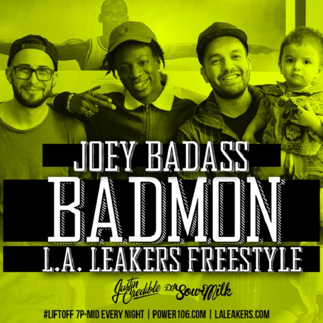 Joey Bada$$ - Badmon (L.A. Leakers Freestyle)