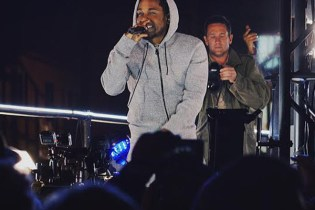 Kendrick Lamar Throws a Concert On a Moving Truck