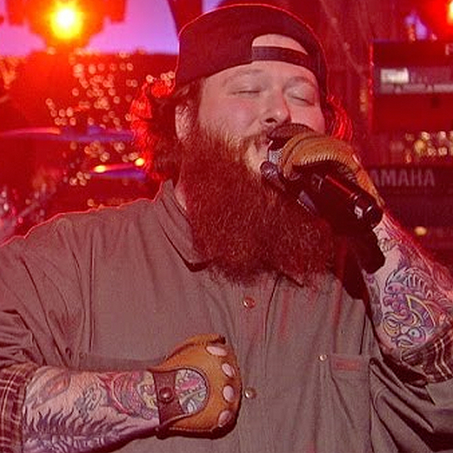 """Watch Chance The Rapper and Action Bronson Perform """"Baby Blue"""" on 'Letterman'"""