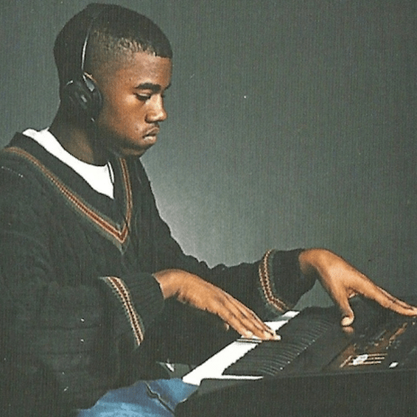 Watch a Young Kanye West Rap With His Mom