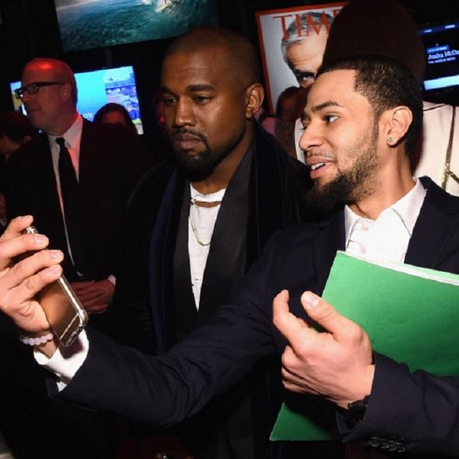 A Fan Rapped Alongside Kanye West at the Time 100 Gala Last Night