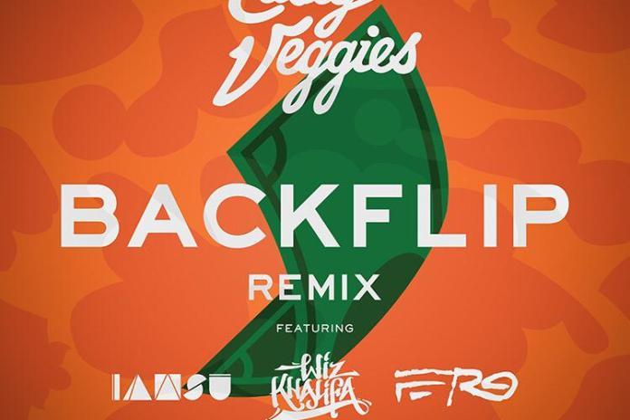 Casey Veggies featuring Iamsu!, Wiz Khalifa & A$AP Ferg -- Backflip (Remix)