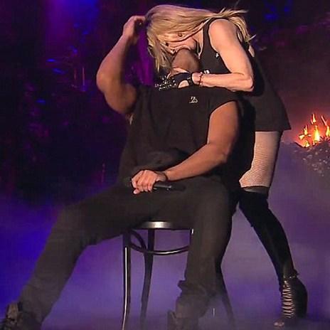 Madonna Kisses Drake Passionately During His Coachella Performance