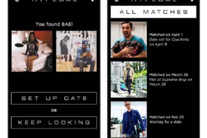 HYPEBEAST Introduces Dating App HYPEBAE