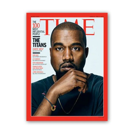 Kanye West Covers Time Magazine's '100 Most Influential People' Issue
