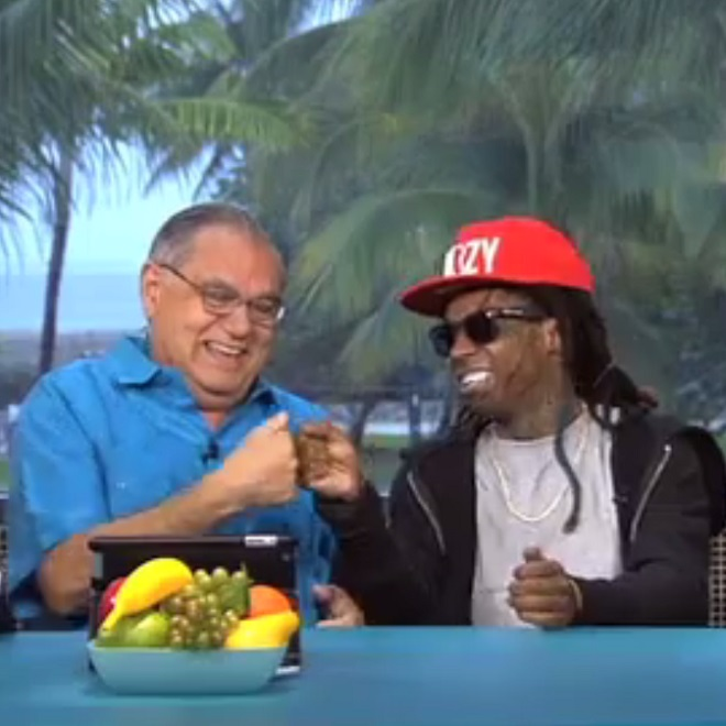 "Lil Wayne & ""Papi"" Gonzalo Rap the Lyrics to ""HYFR"" on 'Highly Questionable'"