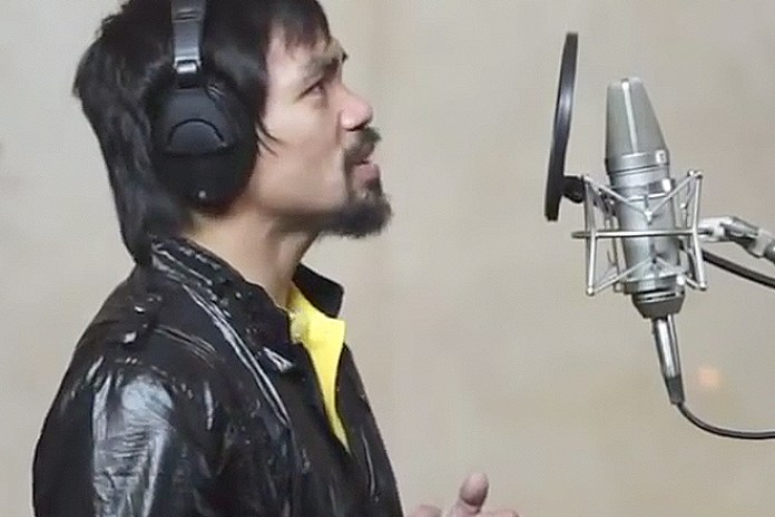 "Manny Pacquiao Releases New Music Video ""Lalaban Ako Para Sa Filipino"""