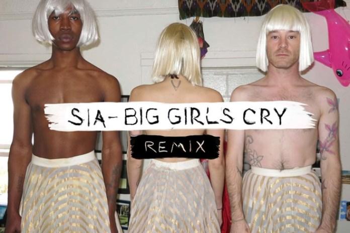 Sia - Big Girls Cry (Bleachers Remix)