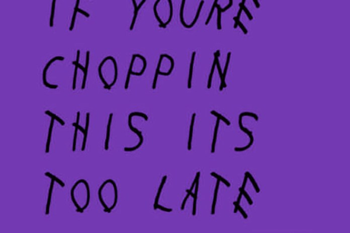 """Stream Drake's 'If You're Reading This It's Too Late' Project """"Chopped-Not-Slopped"""" by OG Ron C"""