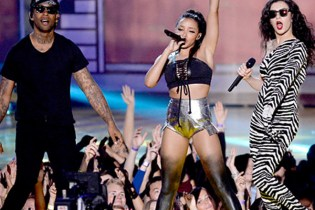 "Ty Dolla $ign, Charli XCX and Tinashe Perform ""Drop That Kitty"" at the 2015 MTV Movie Awards"