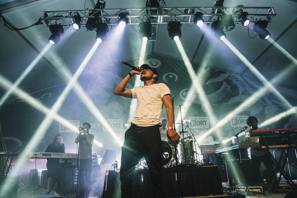 chance the rapper there is no singular black experience or black opinion or black thought