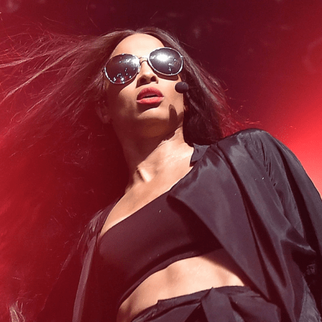Ciara Kicks a Fan in the Jaw While Giving Him a Lap Dance