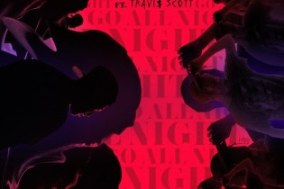 Hit-Boy featuring Travis $cott - Go All Night
