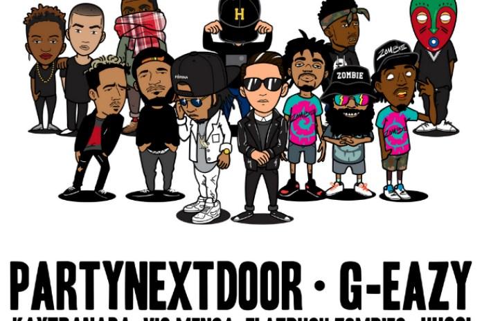 PARTYNEXTDOOR, G-Eazy, Kaytranada, Vic Mensa and Flatbush Zombies to Headline JMBLYA 2015