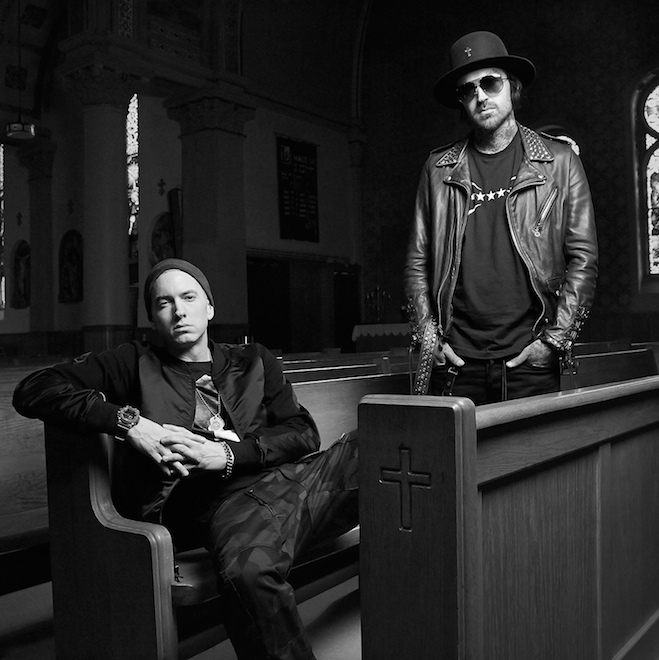 Yelawolf and His Album's Executive Producer, Eminem, Discuss 'Love Story'