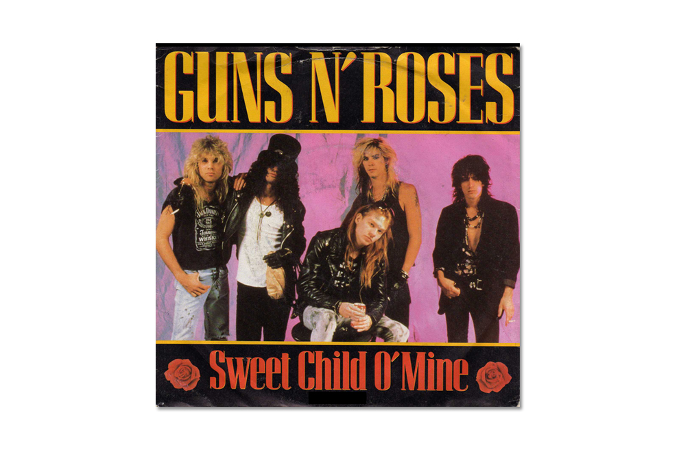 guns n roses is accused of plagiarism for sweet child o mine