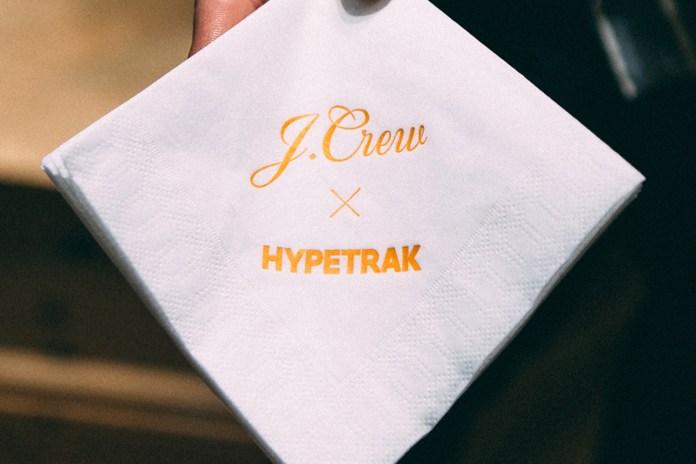 HYPETRAK Kicks Off Monthly Event with J.Crew
