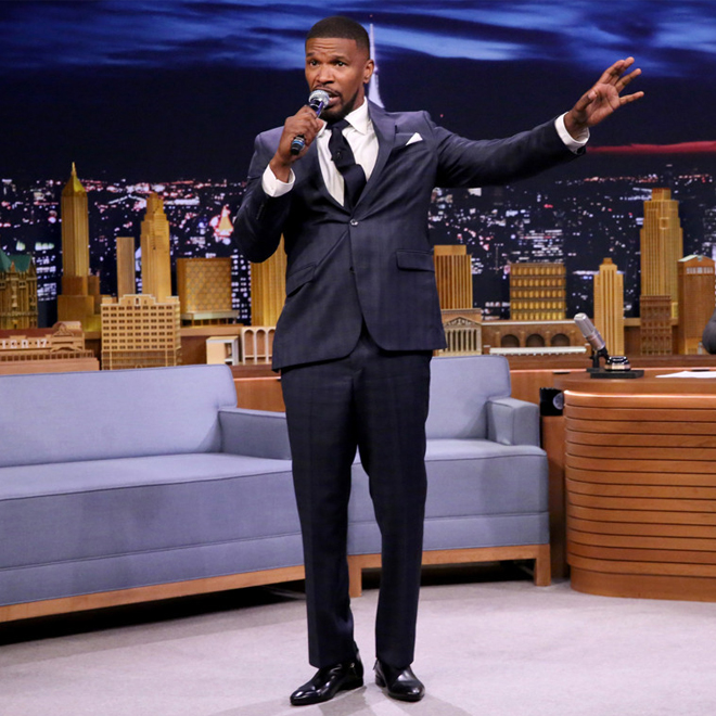 """Watch Jamie Foxx and Kid Ink Perform """"Baby's In Love"""" on 'The Tonight Show'"""