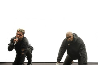Kanye West and Vic Mensa Perform at Chance the Rapper's 'Open Mike' Event