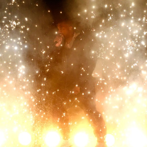 Kanye West Censored During Billboard Music Award Performance