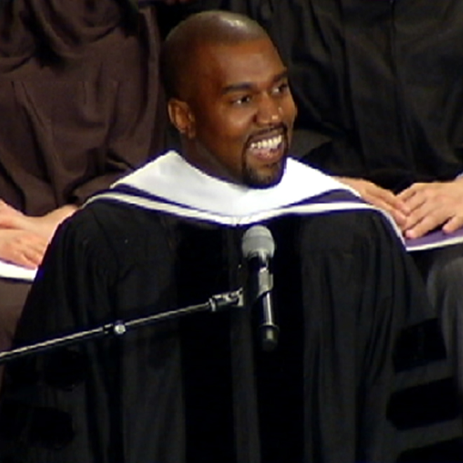 Watch Kanye West Give His Honorary Doctorate Speech at SAIC
