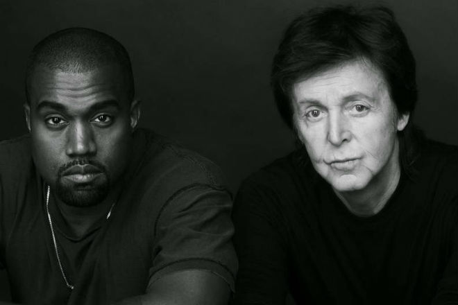 paul mccartney says kanye wests only one was inspired by the beatles let it be