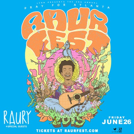 Raury Announces Second Annual Raurfest