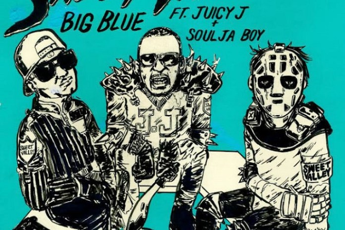 Sweet Valley featuring Juicy J & Soulja Boy - Big Blue