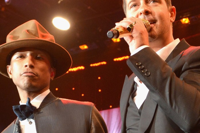 "The Lawyers for Robin Thicke and Pharrell Seek New Trial for ""Blurred Lines"""