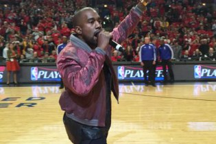"""Watch Kanye West Perform """"All Day"""" at the Chicago Bulls Game"""