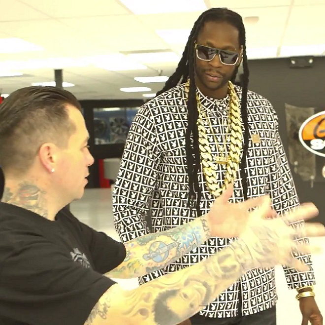 2 Chainz Gets Excited Over West Coast Customs' $500K DeLorean