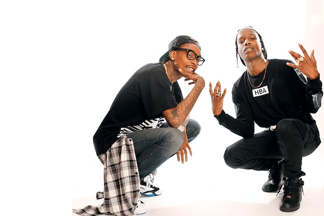 aap rocky and wiz khalifa announce joint european tour this fall