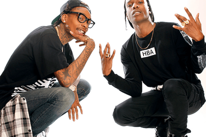 A$AP Rocky and Wiz Khalifa Announce Joint European Tour This Fall