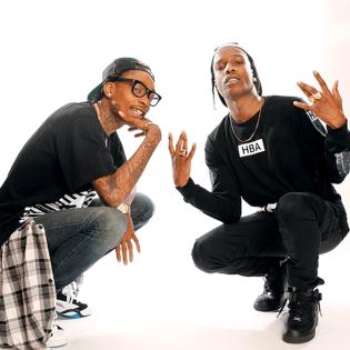 A$AP Rocky and Wiz Khalifa Announce Joint European Tour This Fall
