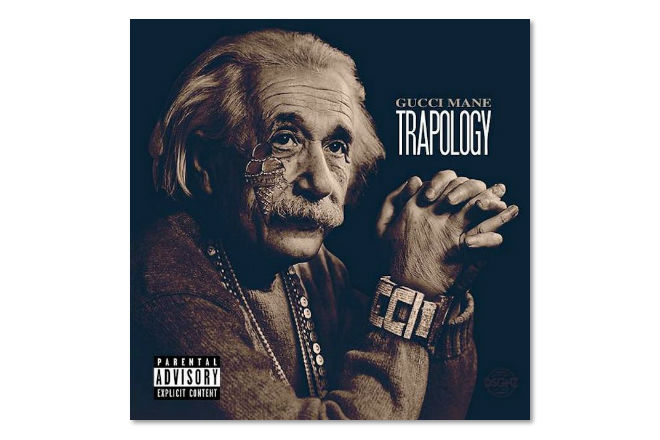 genius level album artwork for gucci manes new project trapology