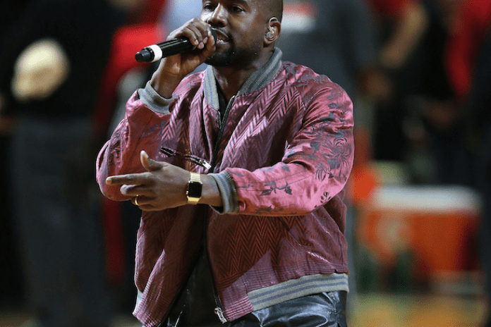 Kanye West Gives His Own Post-Game Interview After the Warriors Beat the Cavs